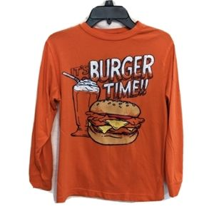 It's Burger Time! Old Navy Long Sleeve T-shirt